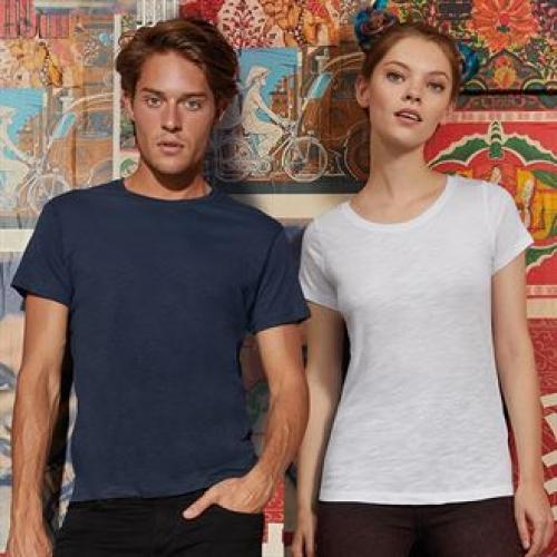 people wearing organic t shirts