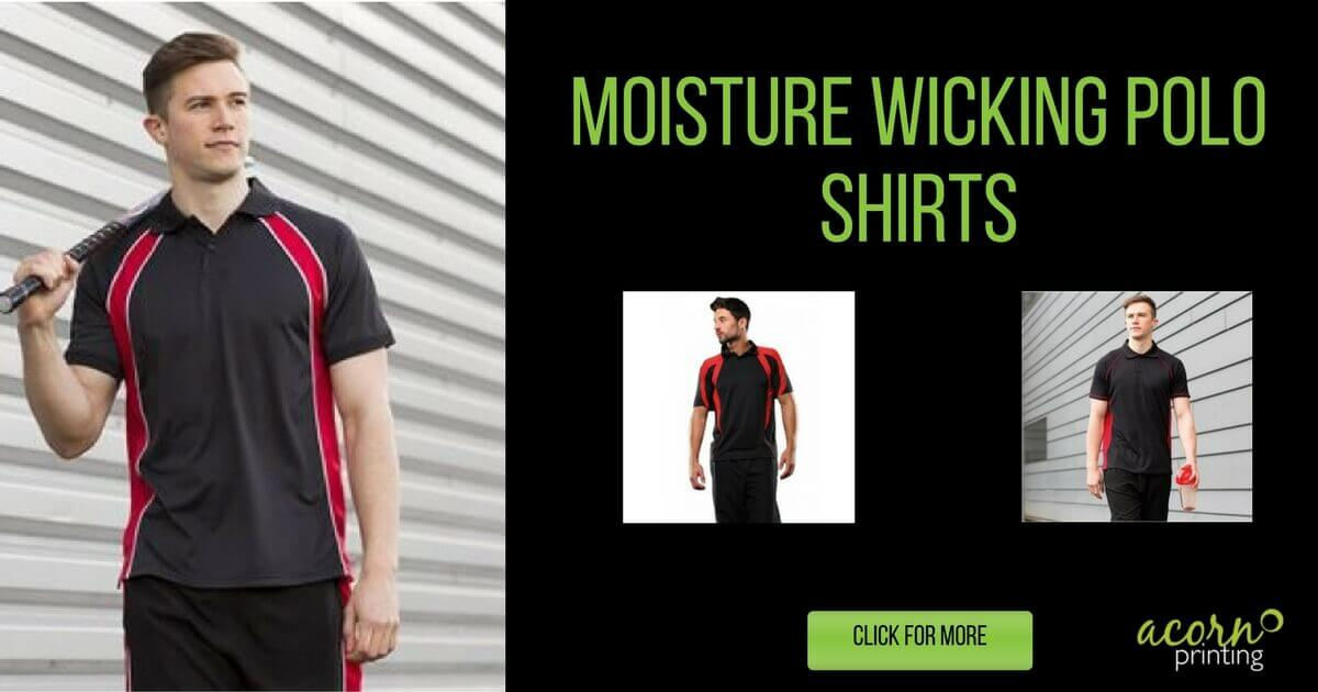 Moisture Wicking Polo Shirts