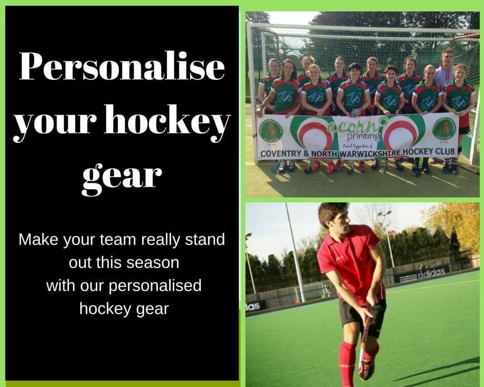 Personalise your hockey gear