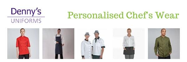 printed Denny's Uniform Chefs wear