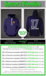 school leaver hoodies 2017