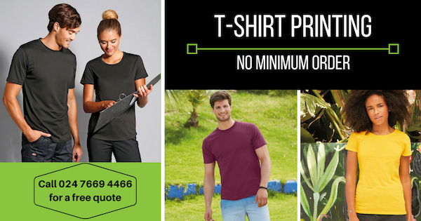 T Shirt Printing No Minimum Order