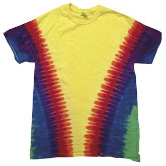 Hand died tee shirts