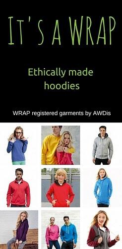 WRAP registered hoodies