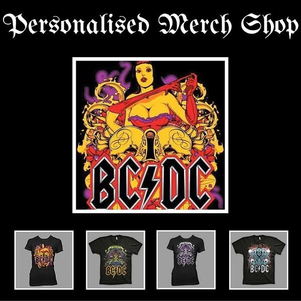 create online band merchandise shop