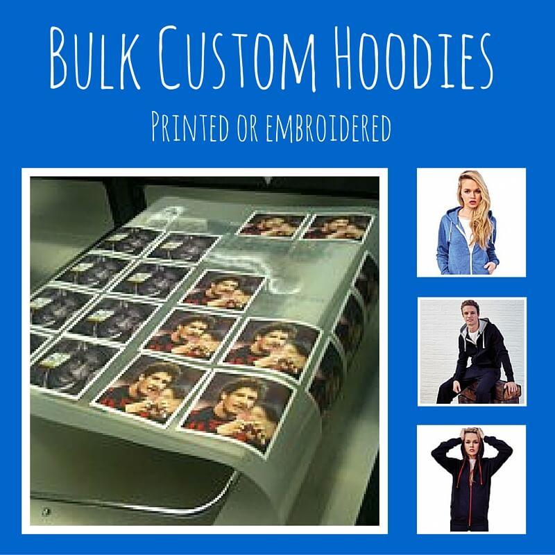 bulk custom hoodies printed