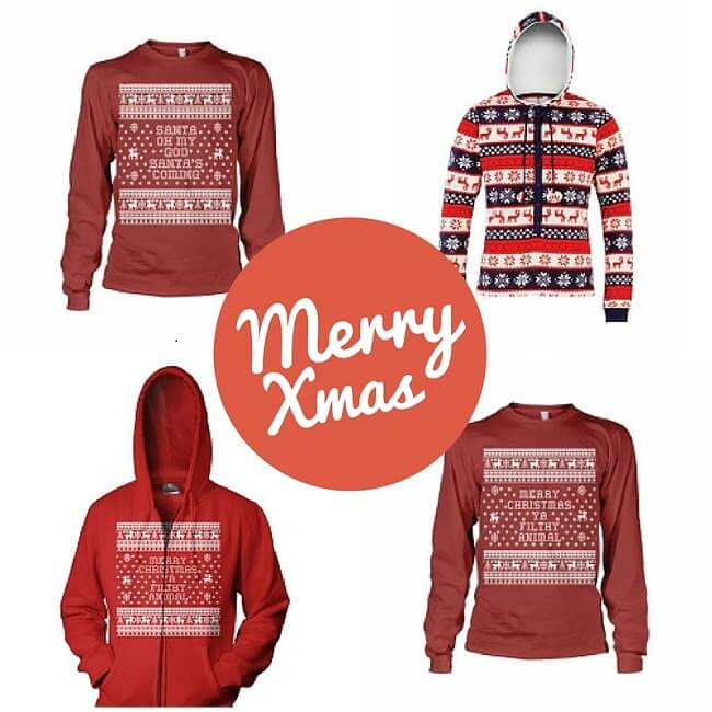 christmas sweatshirts and onsesies