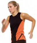 womens athletics vest by Cooltex