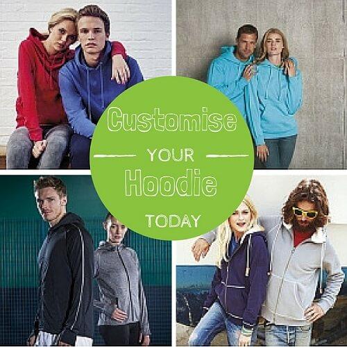 customised leavers hoodies embroidered or printed
