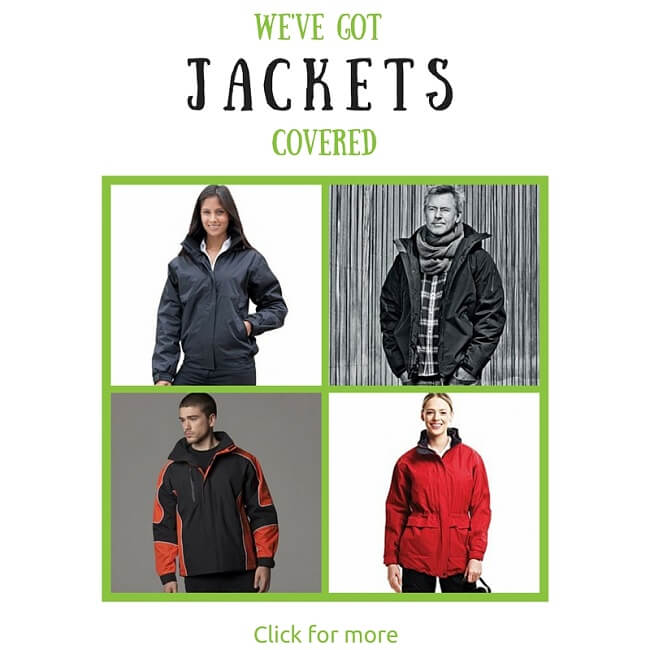 customised jackets and fleeces