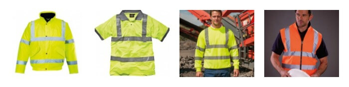 hi visibility embroidery