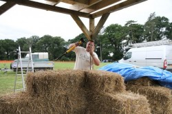 Huff and Puff Construction straw bale building