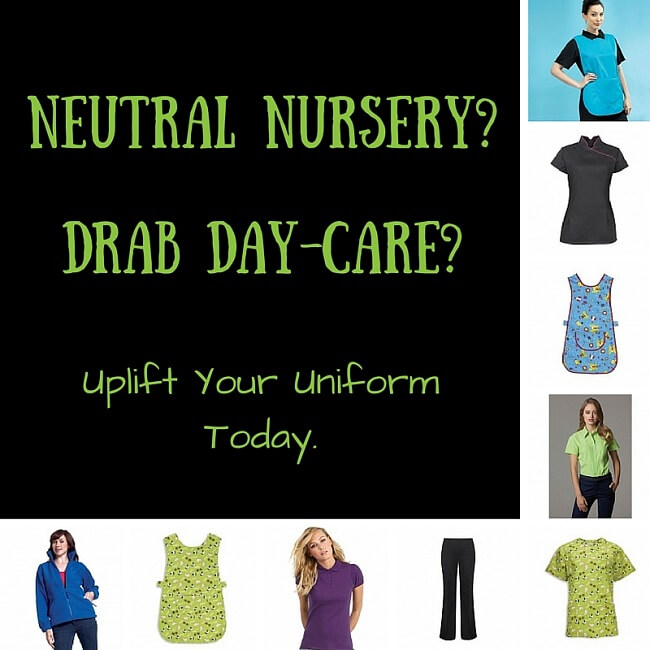 personalised nursery staff uniforms