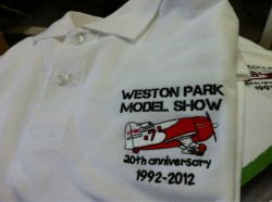 Embroidered polo shirt by Acorn Printing