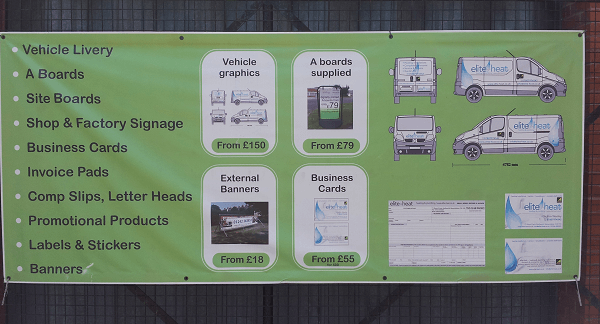 printing heavy duty promotional vinyl banners