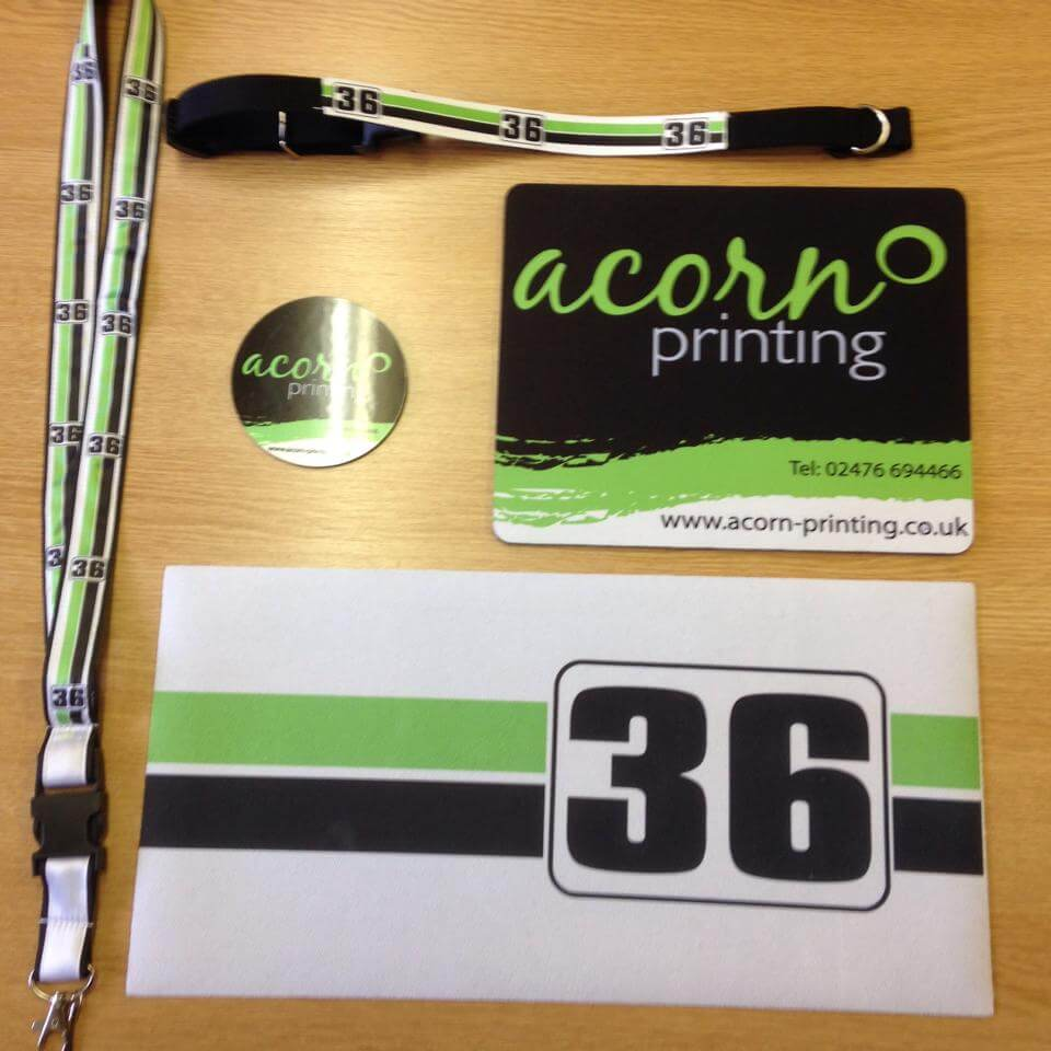 promotional items, give-aways and garments