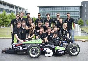 Acorn has sponsored University of Warwick Racing Team and provided help displaying sponsor logos on the car