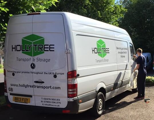 van graphics supplier Berkswell, Coventry