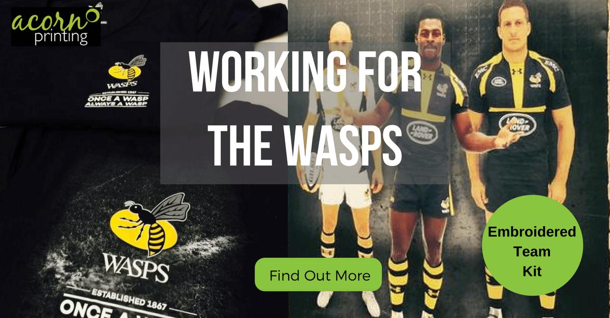 customised team kit for Wsps
